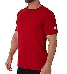 Adidas Short Sleeve Logo Regular Fit T-Shirt 3720