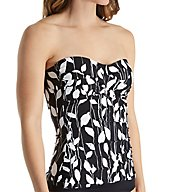 Anne Cole Vines Bandini Tankini Swim Top 17MT250