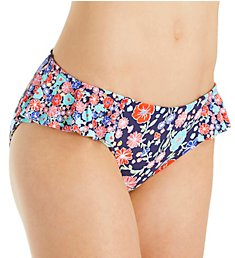 Anne Cole Lazy Daisy Side Flounce Bikini Swim Bottom 18MB311
