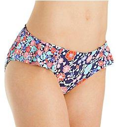 Anne Cole Lazy Daisy Side Flounce Bikini Swim Bottom 18MB311