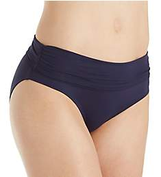 Anne Cole Live In Color Fold Brief Swim Bottom 18MB360