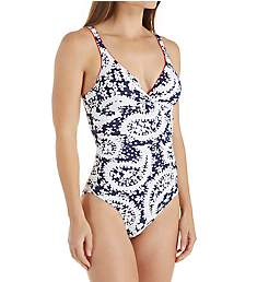Anne Cole Pattie Paisley Underwire One Piece Swimsuit 18MO010