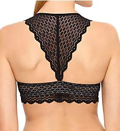 b.tempt'd by Wacoal Love Triangle Lace Front Close Bralette 910238