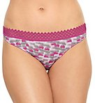 b.tempt'd by Wacoal Tied in Dots Thong 976238