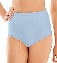 Bali Full-Cut-Fit Stretch Cotton Brief Panty 2324