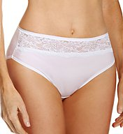 Bali One Smooth U Comfort Indulgence Lace Hi-Cut Panty 2848