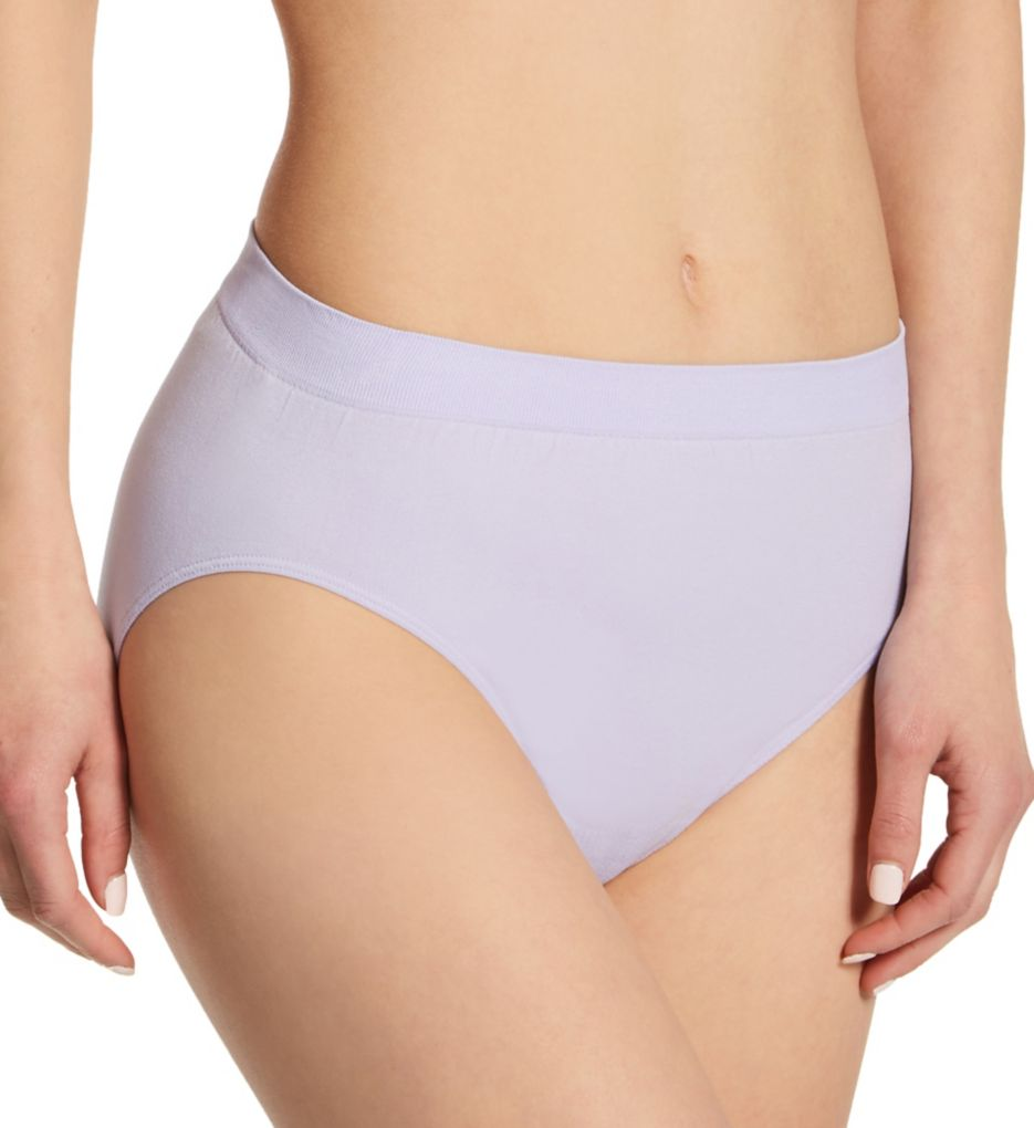 Bali Comfort Revolution Microfiber Solid Hi-Cut Panty 303J