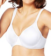 Bali Active Classic Coverage Foam Underwire Bra 6567
