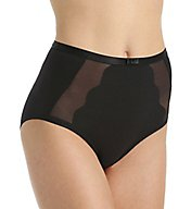 Bali Sheer Sleek Desire Scallop Brief Panty 6571