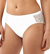 Bali Cotton Desire Microfiber Hi-Cut Brief Panty CD62