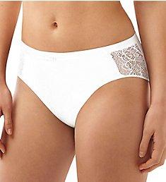 Bali Lace Desire Cotton Hi-Cut Brief Panty CD62