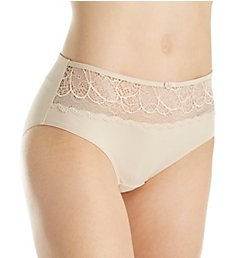 Bali Lace Desire Microfiber Hipster Panty LD63