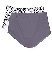 Bali One Smooth U Cotton Brief Panty - 2 Pack X864