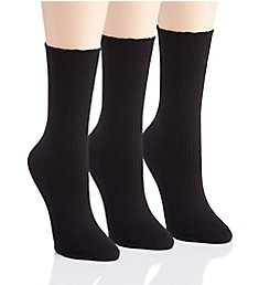 Berkshire Active Comfort Non-Binding Crew Socks - 3 Pack 1850033