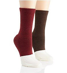 Berkshire Active Comfort Diabetic Crew Socks - 2 Pack 1850042