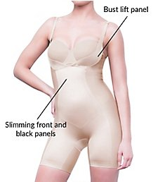 Body Hush Glamour Matte & Shine All-in-One Torsette Shaper BH1501MS