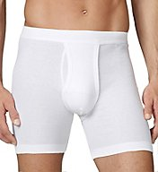 Calida Cotton 1x1 New 100% Cotton Fly Front Boxer 25111
