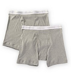 Calvin Klein Big Man 100% Cotton Boxer Brief - 2 Pack NB1103
