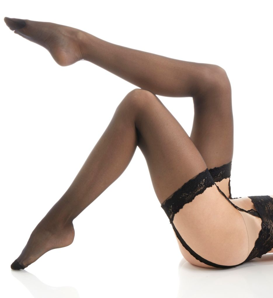 Calvin Klein Ultimate Sexy Stocking with Lace Garter S21F