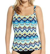 Christina Secret Spring D-Cup Scoop Neck Tankini Swim Top SS5087D