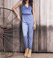 Cosabella CSBLA Remington Deep V Jumpsuit REM8821