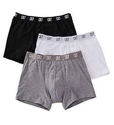 CR7 Essential Cotton Stretch Trunks - 3 Pack 8100-49