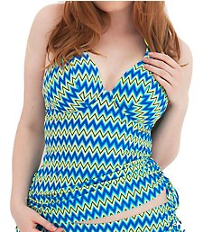 Curvy Kate Shockwave Halterneck Tankini Swim Top CS1226