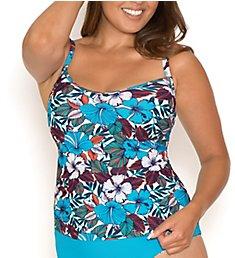 Curvy Kate Hibiscus Tankini Swim Top CS1440