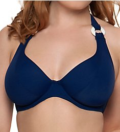 Curvy Kate Smooth Sailing Halterneck Swim Top CS2621