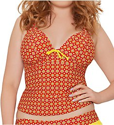 Curvy Kate Casablanca Halterneck Tankini Swim Top CS2826