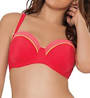 Curvy Kate Bon Voyage Padded Balcony Bikini Swim Top CS3211
