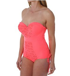 Curvy Kate Siren Strapless One Piece Swimsuit CS3357