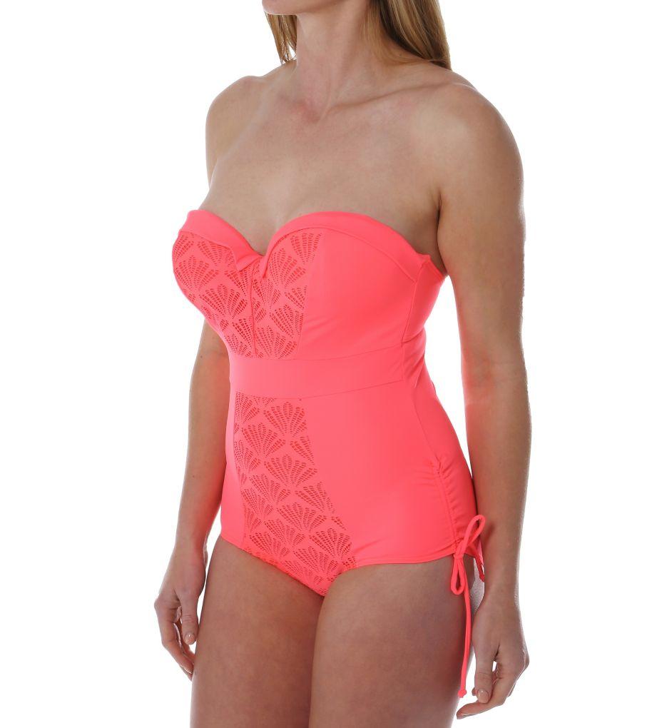 Curvy Kate Siren Strapless One Piece Swimsuit CS3357
