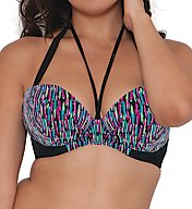 Curvy Kate Galaxy Plunge Bikini Swim Top CS3751