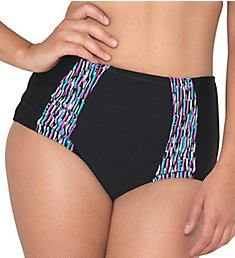 Curvy Kate Galaxy High Waist Brief Swim Bottom CS3765