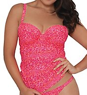 Curvy Kate Daze Padded Balcony Tankini Swim Top CS3916