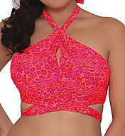 Curvy Kate Daze Cross Over Bandeau Swim Top CS3941