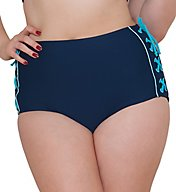 Curvy Kate Set Sail High Waist Brief Swim Bottom CS4065