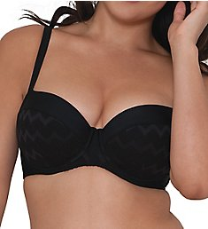 Curvy Kate Hi Voltage Padded Balcony Bikini Swim Top CS4111