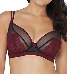 Curvy Kate Dragonfly Sheer Lace Plunge Bra SG5411