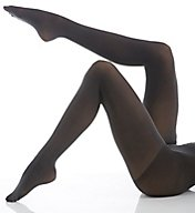 DKNY Hosiery Opaque Coverage Tights with Control Top 412NB
