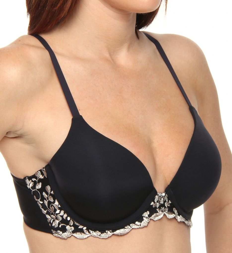 Donna Karan Incognita Embroidered Frame T-Shirt Bra 453199