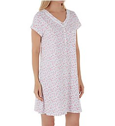 Eileen West 100% Cotton Jersey Short Nightshirt 5319903