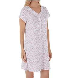 Eileen West 100% Cotton Jersey Short Nightshirt 5319903