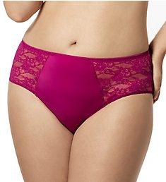 Elila Lace and Microfiber Panty 3503