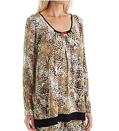 Ellen Tracy Holiday Bliss Long Sleeve Top 8418461
