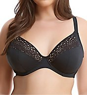 Elomi Indie Crochet Underwire Plunge Bikini Swim Top ES7533
