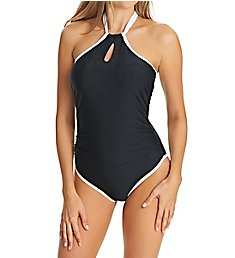 Freya Back To Black Underwire High Neck One Pc Swimsuit AS3705