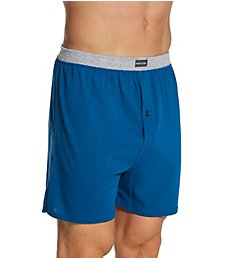 Fruit Of The Loom Men's Assorted Cotton Knit Boxers - 5 Pack 5P540TG