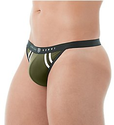 Gregg Homme Push Up 2.0 Enhancement Thong With Removable Pad 142504
